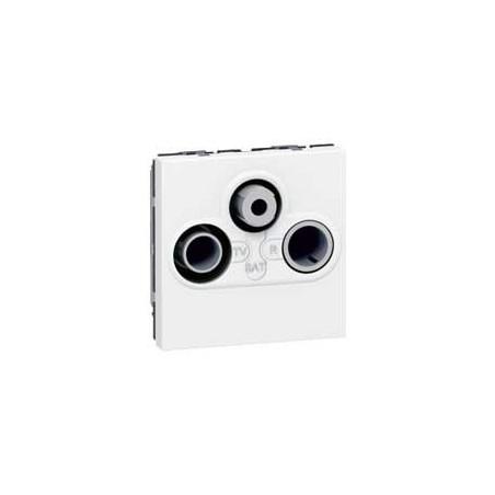 Prisetv /Fm /Sat Mosaic - 2 Mod - Blanc (078786) - LEGRAND