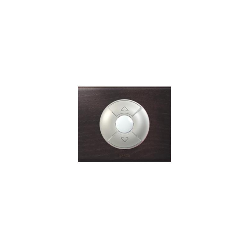 Teinte Wengué - Interrupteur Volets/Stores - LEGRAND