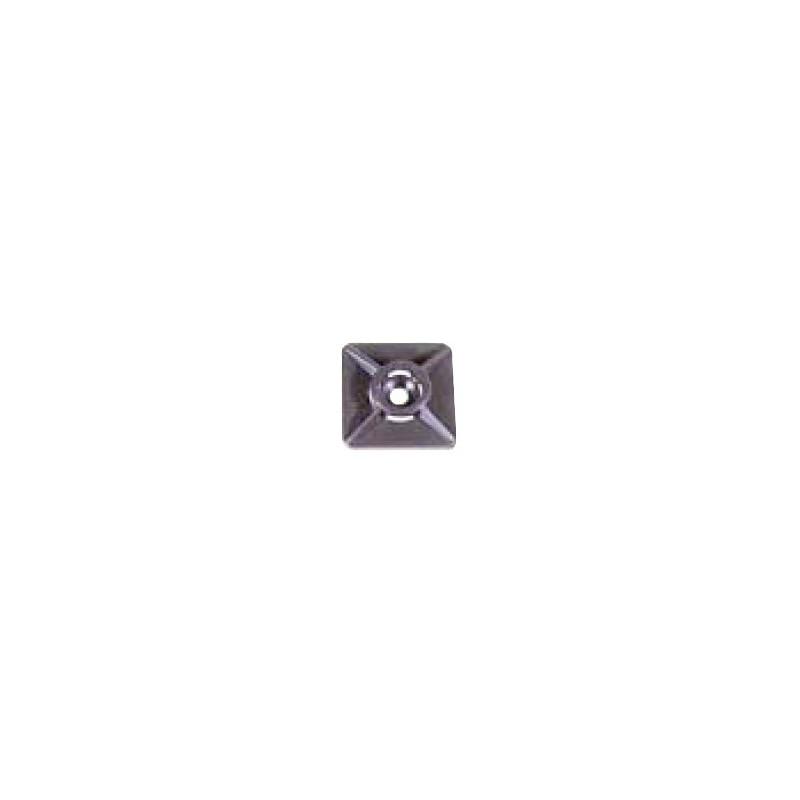 Embase Adhes.Noire Larg. 4,7Mm - KLAUKE