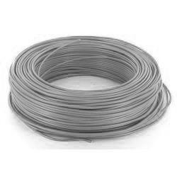 100m de câble H07V-U 1G1,5 fil gris - Cable
