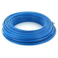 100m de câble H07V-U 1G1,5 fil bleu - Cable