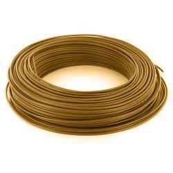 100m de câble H07V-U 1G1,5 fil marron - Cable