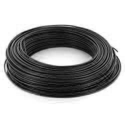 100m de câble H07V-U 1G1,5 fil noir - Cable