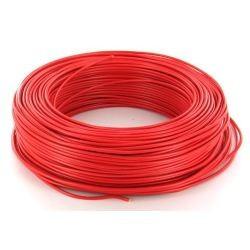 100m de câble H07V-U 1G1,5 fil rouge - Cable