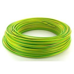 100m de câble H07V-U 1G1,5 fil vert-jaune - Cable