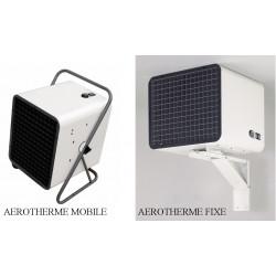 AEROTHERME MOBILE/FIXE + FIXATION 18000/9000W