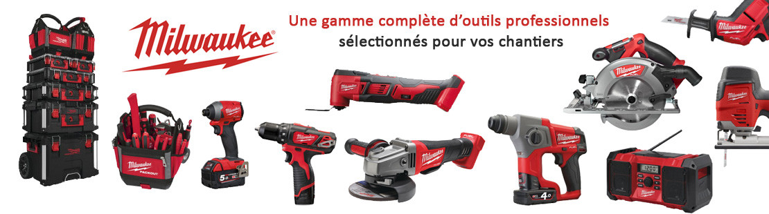 Outillage professionnel Milwaukee